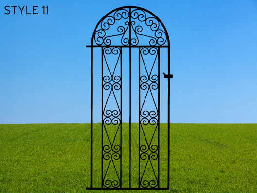 wrought iron gates 11