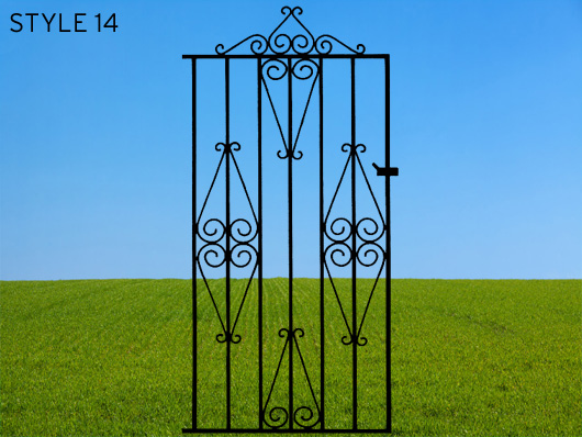 wrought iron gates 14