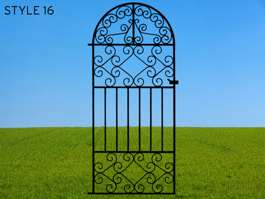 wrought iron gates 16