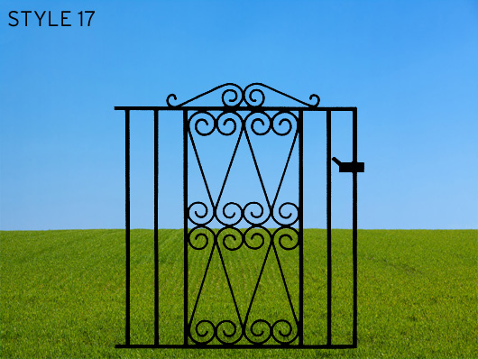 wrought iron gates 17