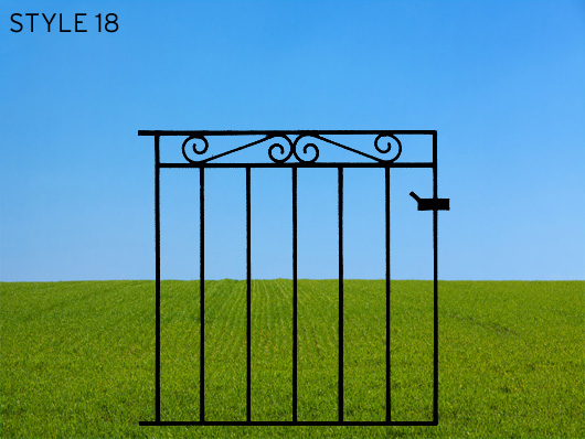 wrought iron gates 18