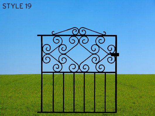 wrought iron gates 19