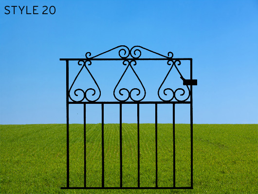 wrought iron gates 20