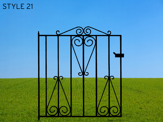 wrought iron gates 21