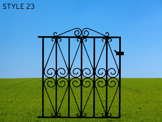wrought iron gates 23