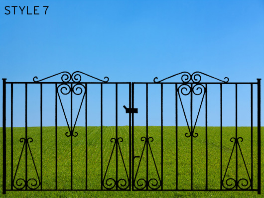 wrought iron gates 7
