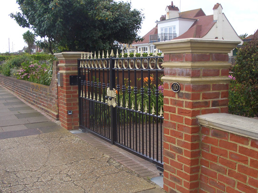 decorative metal gates