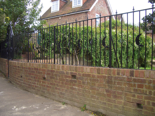 decorative metal railings