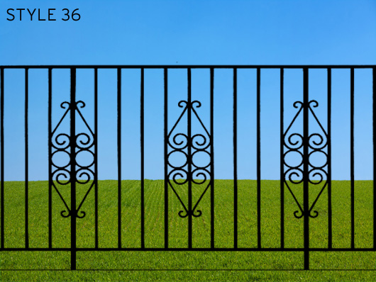 wrought iron gates 12