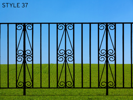 wrought iron gates 13